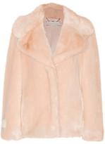 Stella McCartney Faux Fur Coat - Blush