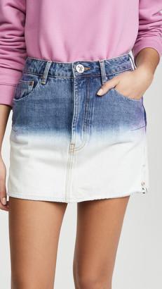 One Teaspoon Dip Dye Vanguard Skirt