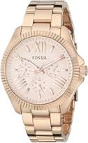 Fossil Women's AM4569 Cecile Rose -Tone Stainless Steel Bracelet Watch