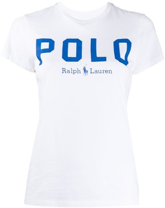 Polo Ralph Lauren printed logo fitted T-shirt