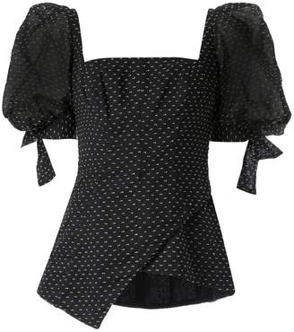 Rachel Gilbert Loni puff sleeve top