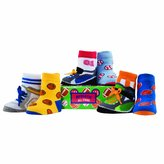 Elegant Baby Organic 6-pair Sock Set - Athletic All Stars (japan import)