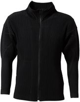 Homme Plissé Issey Miyake - pleated zipped cardigan - men - Polyester - 4