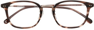 Carrera Square Tortoiseshell Glasses