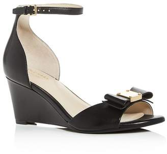 Cole Haan Women's Tali Bow Wedge Sandals