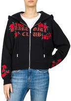 The Kooples Embroidered Smart Girl Club Graphic Hoodie