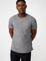 Frank + Oak Melange Loose Fit T-Shirt in Pavement