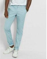 Express slim finn light blue chino pant
