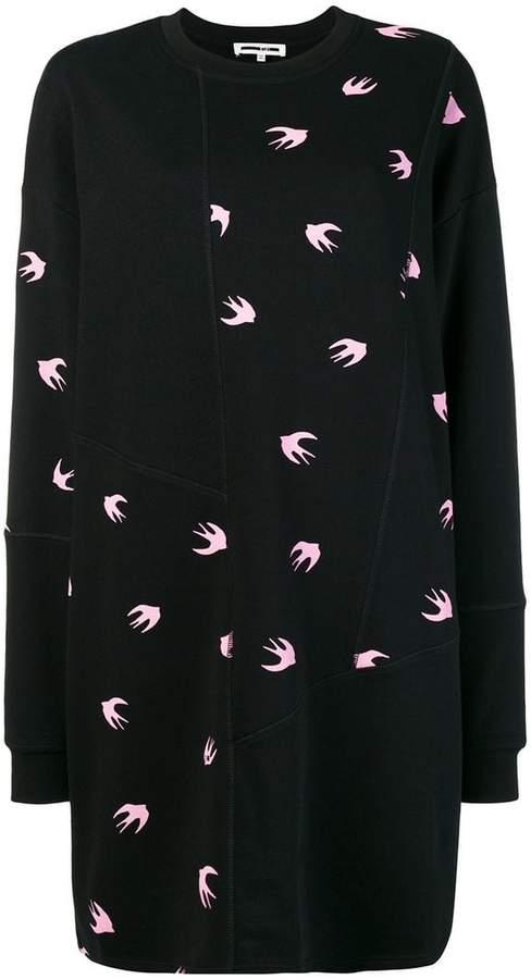 McQ bird sweater dress