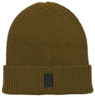Marcelo Burlon County of Milan Wool Blend Knit Beanie Hat