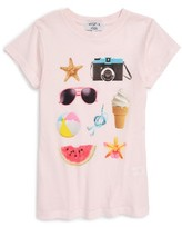 Wildfox Couture Girl's Beach Essentials Tourist Tee