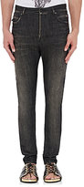 Balmain MEN'S DROP-RISE SLIM JEANS