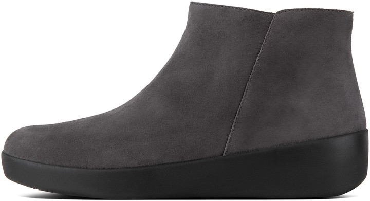 FitFlop Sumi Suede Ankle Boots - ShopStyle