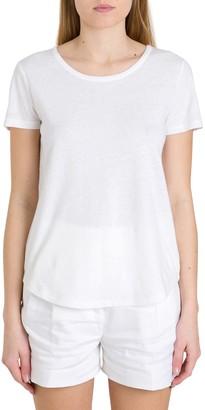 MICHAEL Michael Kors Cotton And Linen Short Sleeves Tee