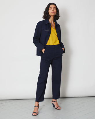 Jigsaw Cotton Drill Suit Trouser
