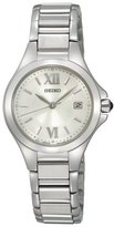 Seiko Women's SXDC13 Dress White Dial Watch