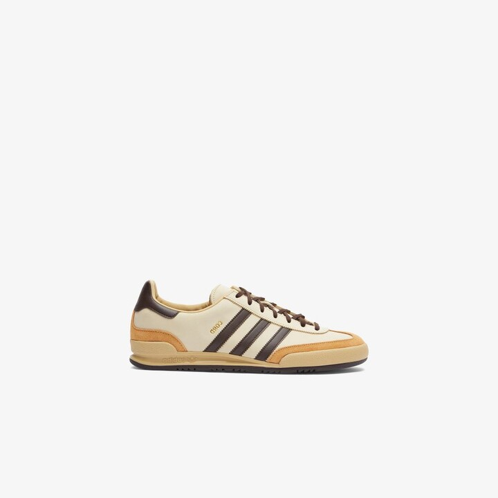 Brown Cord Reverse Leather Sneakers - Men's - Leather/Rubber