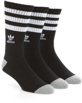 adidas Men's 3-Pack Original Roller Crew Socks