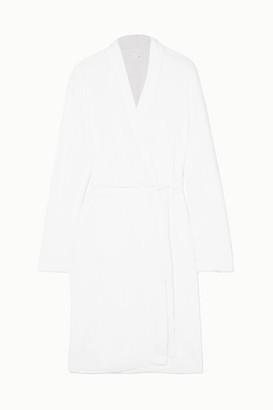 Skin Cotton-terry Robe - White