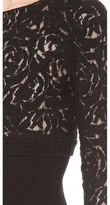 Nina Ricci Lace Knit Top