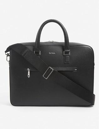 Paul Smith Signature leather folio satchel