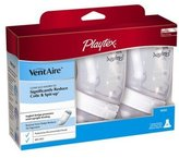Playtex VentAire Advanced Natural Feeding System Bottles, Slow Flow, Wide / 6oz, 3 ea by