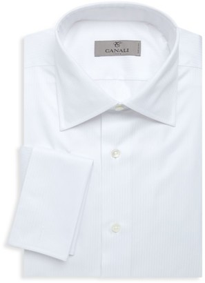 Canali Regular-Fit French Cuff Dress Shirt