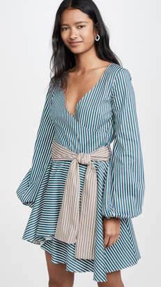 Caroline Constas Mini Lena Dress