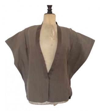 Damir Doma Khaki Cotton Jackets