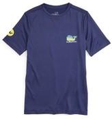 Vineyard Vines Boy's Dolphin Whale Performance T-Shirt
