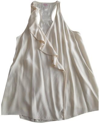 Parker White Silk Top for Women