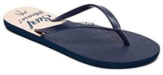 Roxy Women's Viva St Amphibian Flip Flops, (Nautical Blue Nab)