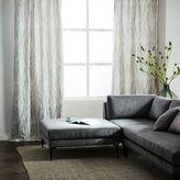 Bark Texture Jacquard Curtain