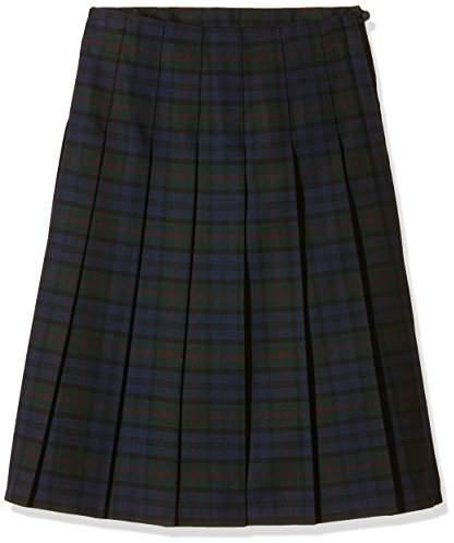 Trutex Girl's GST-JUB-L20-W32 SNR Tartan Kilt Checkered Skirt,(Manufacturer Size:32)