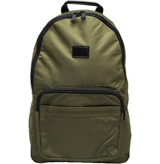 Fred Perry Mens Sports Nylon Backpack Olive