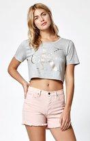 Calvin Klein Foil Reissue Cropped T-Shirt