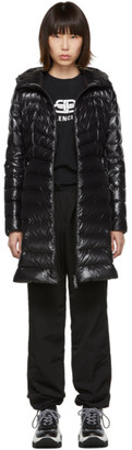 Moncler Black Down Authie Jacket