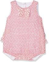 Absorba Baby Girls' Pink Attitude Full Slip,9-12 Months