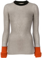 Marni colour block sweater - women - Polyamide/Wool/Alpaca/Virgin Wool - 40