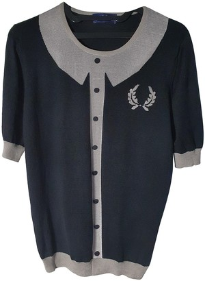 Fred Perry Grey Silk Knitwear for Women Vintage