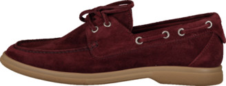 Brunello Cucinelli Suede Boat Shoe
