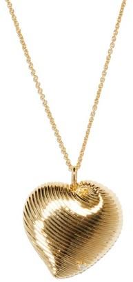 Yvonne Léon Diamond & 9kt Gold Pendant Necklace - Gold