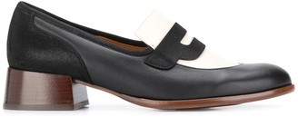 Chie Mihara Sabas two-tone loafers