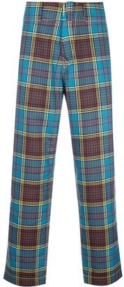 Marni classic check trousers