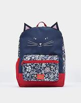 Joules Patch Rucksack in French Navy Ria Ditsy in One Size