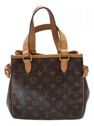 Louis Vuitton Batignolles Brown Cloth Handbags