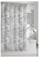 Kassatex Paisley Shower Curtain - Blue/Grey