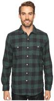 True Grit Vintage Melange Buffalo Check Long Sleeve Two-Pocket Shirt