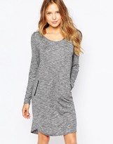 Ichi Long Sleeve Sweater Dress