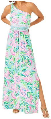 Lilly Pulitzer Malia Maxi Dress (Multi Totally Blossom Engineered) Women's Dress